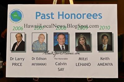 "03-31-11 6th Annual OIA Athletic Foundation Dinner Honoring ""DONALD M. TAKAKI"