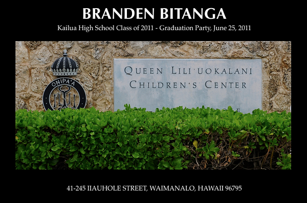 06-25-11 Branden Bitanga Graduation Party - Class of 2011